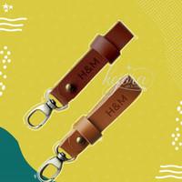Leather Key Holder Souvenir Pernikahan