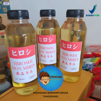 Hiroshi Hon Mirin Repack 500ml / Arak Masak Jepang Import 500 ml