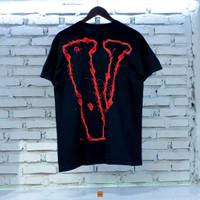 Kaos VLONE x THE WEEKND Smile Font - S