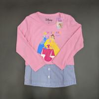 Disney Original Princess Kaos Baju Anak Perempuan Pakaian 17028849 - 4