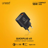UNEED Quick Plug Wall Charger 18W QC3.0