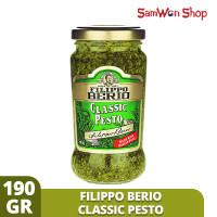 FILIPPO BERIO PESTO CLASSIC 190 GRAM - PESTO HIJAU WITH ITALIAN BASIL