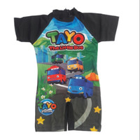 Baju Renang anak cowok usia 4,5,6,7 tahun/Gambar Tayo