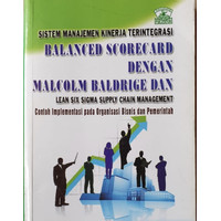 Balance Scorecard dengan Malcolm Baldridge - Vincent Gasperz