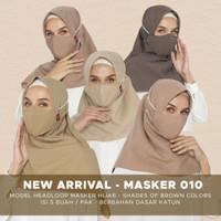 Tatuis Masker kain 3 ply 010 Women Hijab 5pcs