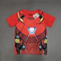 Marvel Original Iron Man Kaos Baju Anak Laki Laki Pakaian 16021650 - 6
