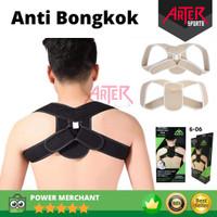 Terapi Koreksi Postur Bongkok Penyangga Punggung Back Supporter