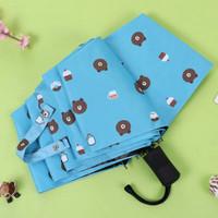 Payung lipat motif warna macaron payung lucu payung lipat serbaguna pa
