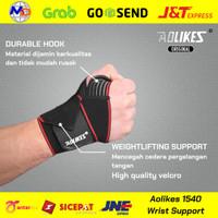 AOLIKES 1540 Wrist Wrap Wraps Strap Fitness Gym Sarung Tangan Gloves