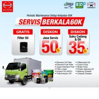 Paket Servis Berkala 60k KM - HINO DUTRO