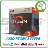 AMD Ryzen 3 3200G 4 Core Radeon Vega 3.6GHz UpTo 4.0GHz AM4 PROMO
