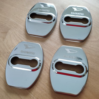 Door Lock Cover Stainless untuk Daihatsu Xenia Ayla Sigra Terios