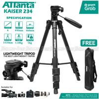 Attanta Kaiser 234 Light Weight Tripod Video Camera DSLR with Bag