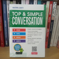 BUKU BEST SELLER TOP & SIMPLE CONVERSATION