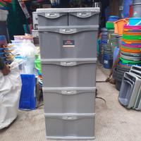Lemari Pakaian Plastik Susun 4 Lion Star / Suprema Container SL 4