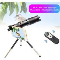 SOHA LNZ-002 Lensa HP 36X Optical Zoom 4K HD Telescope Camera