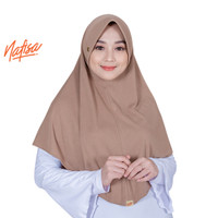 Nafisa Instan Azqila   Hijab Instan Premium   Jilbab Simple Pet Antem