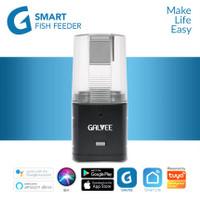 GALVEE WiFi Smart Fish Feeder Makanan Ikan - Black IoT Home Automation