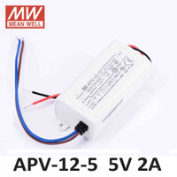 Mean Well APV-12-5 Power Supply LED Driver (5v 2Ampere)