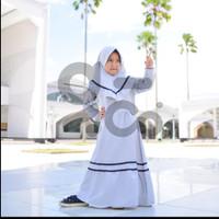 Baju Muslim Anak Perempuan Usia 1 2 3 4 5 6 7 8 9 10 11 12 Tahun