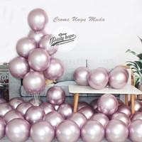 Balon Chrome Ungu MUDA / Balon Metalik Chrome / Ballon Metalic Chrome