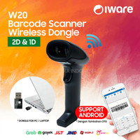 2D WIRELESS BARCODE SCANNER ULTRON ULT-W20 (QR-CODE, E-FAKTUR, PDF417)