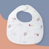 New Muslin Baby Bib / Saliva Bib / Celemek Bayi / Slaber