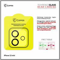 iPhone 12 Mini - Copper Tempered Glass Kamera