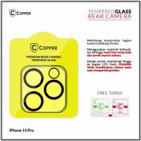Iphone 11 Pro - Copper Tempered Glass Kamera
