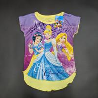 Disney Original Princess Kaos Baju Anak Perempuan Pakaian 15080336 - 4