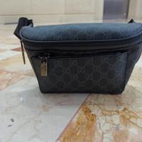 Tas Pinggang Waistbag Gucci Kulit Import Pria Wanita Waist Bag Branded
