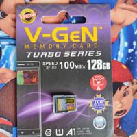 MicroSD V-GeN Turbo 128GB Class 10 Memory Card Micro SD VGEN
