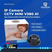 IP Camera CCTV V380 A1 Spy Kamera IP 960P Hidden Wifi CCTV Night Visio