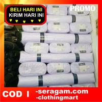 Bahan Kain wool seragam Dinas Pemda PNS PDH ASN kain Putih Hitam