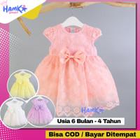 Baju Dress Gaun Ultah Ulang Tahun Anak Perempuan Umur 1 2 3 4 Tahun
