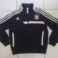 Jaket Tracktop pria Adidas Bayern Munchen FC for kids 6-9 years old