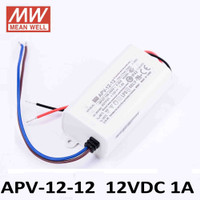 Mean Well APV-12-12 Power Supply LED Driver (12v 1Ampere)