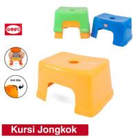 Kursi Bangku Kamar Mandi Dapur Shinpo Plastik Jongkok Multiwarna Murah