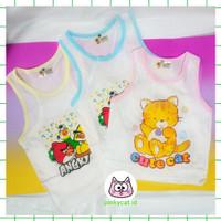 ( 1 2 tahun ) Baju Kaos Oblong Kutung Kutungan Anak Katun Santai 4032 - M