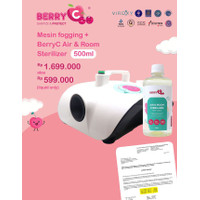Berry C Mesin Fogging + Liquid 500ml BerryC Air and Room Sterilizer