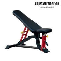 ADJUSTABLE FID BENCH Flat Incline Decline COMMERCIAL Bangku Fitnes gym