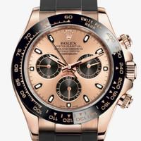 Jam tangan pria Rolex Cosmograph Daytona Oyster everose gold 1:1 ORI