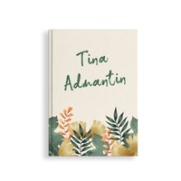 Notebook #Tropical Quote/ Custom/ Planner Dotted/ Grid/ Journal