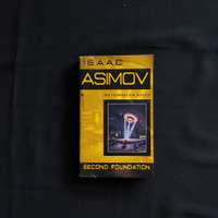 Buku science fiction SECOND FOUNDATION oleh ISAAC ASIMOV 2004