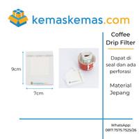 Drip Coffee Bag / Ear Drip Coffee Filter Paper / Kantong Saringan Kopi