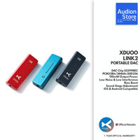 XDUOO Link2 / Link 2 Portable DAC AMP Android iOS USB-C Audio Dongle