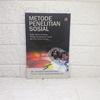Metode Penelitian Sosial IRAWAN SOEKANTONO