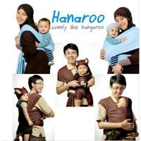 Hanaroo Babywrap Polos / Gendongan Kanguru / Gendongan Polos
