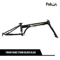 FNHON FRAME SET KCD2018 STORM 20 GOLDEN BLACK + HANDLEPOST ADJUSTABLE