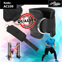 Ankle Strap Gym AC109 | Strap Kaki Fitness 1 D Ring | Strap Kaki Akaro